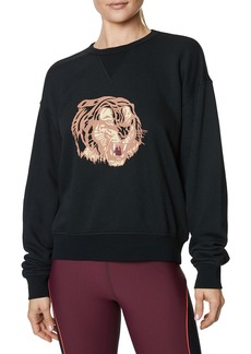Betsey Johnson Tiger Vintage Sweatshirt
