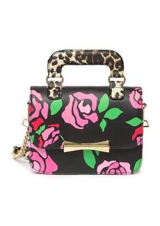 Betsey Johnson Top Handle Crossbody Bag