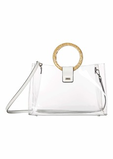 Betsey Johnson Totes Clear Ring Tote