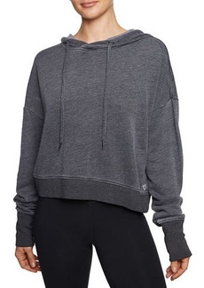 Betsey Johnson Twofer Extended Cuff Hoodie