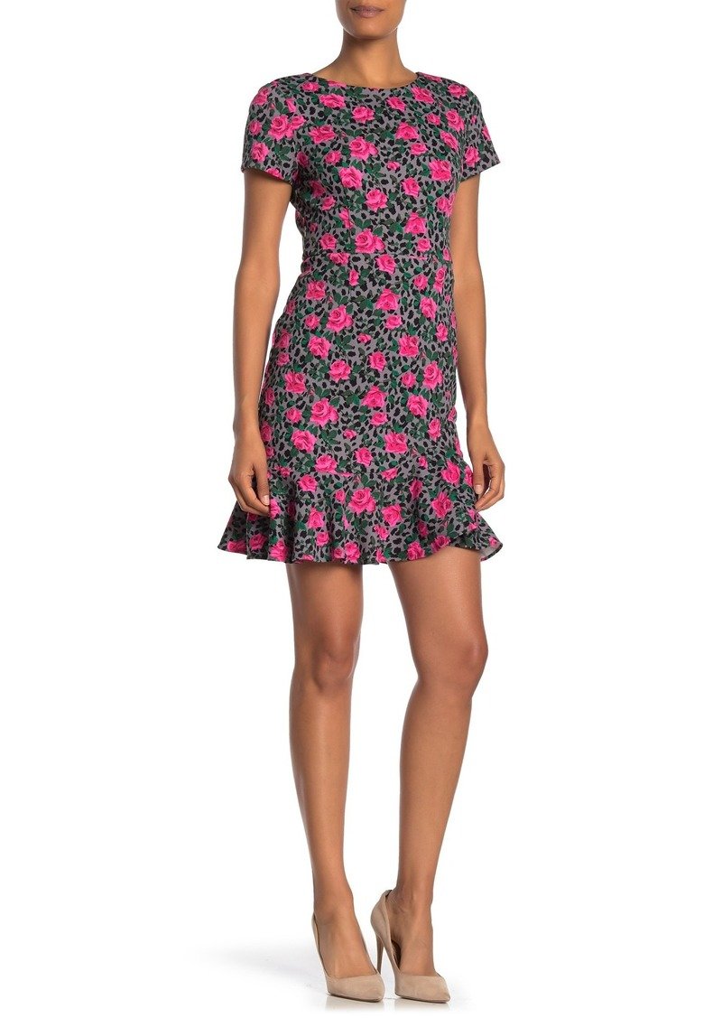 Betsey Johnson Vintage Short Sleeve Printed Dress