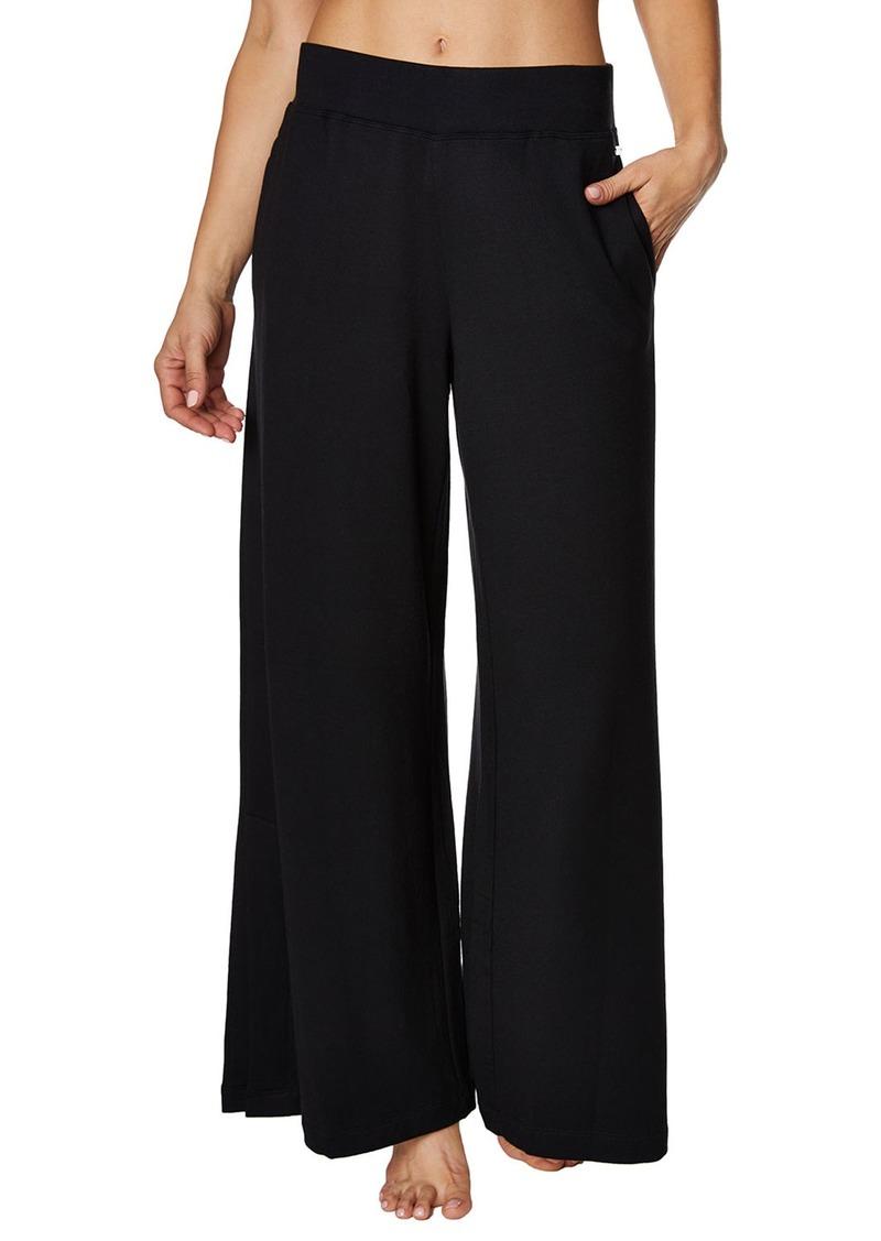 Betsey Johnson Wide-Leg Lounge Pants