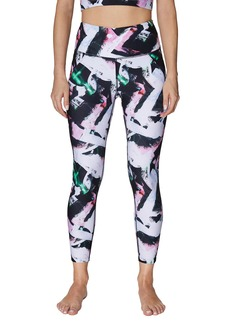 Betsey Johnson Wild Brushstroke Print 7/8 Leggings