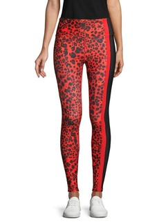 Betsey Johnson Wild-Print Ankle-Length Leggings