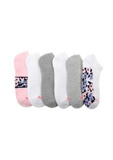 Betsey Johnson Women's Athletic Low-Cut Socks, Pack of 6