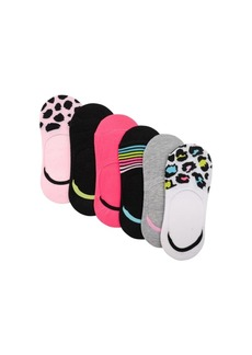 Betsey Johnson Women's Foot Liners, Pack of 6