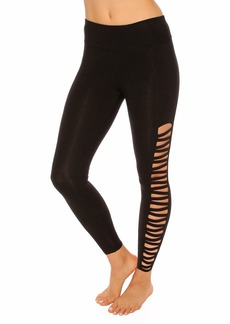 Betsey Johnson Zigzag Ankle Leggings