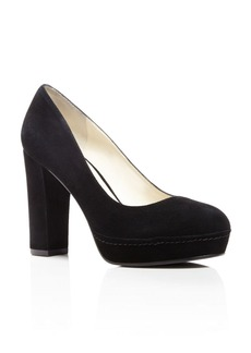 Bettye Muller Moon Platform High Heel Pumps