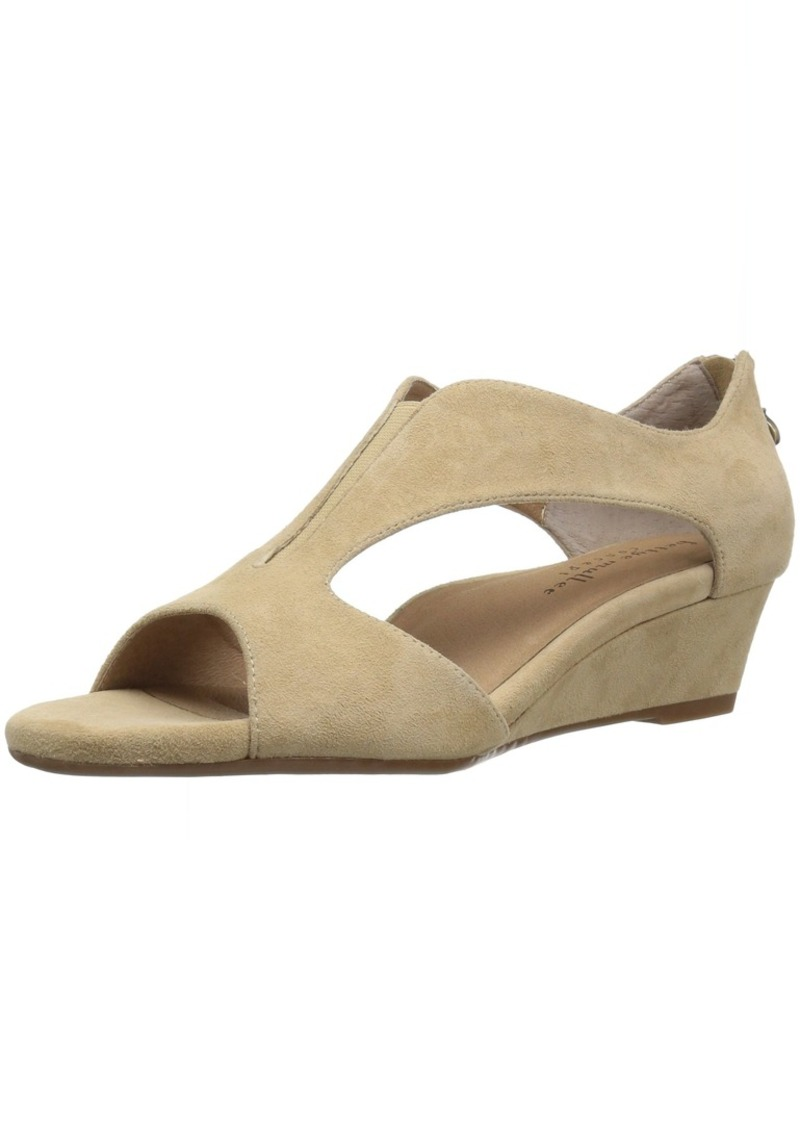 Bettye Muller Women's Shaye Wedge Sandal whey  Medium US