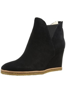 Bettye Muller Women's Whiz Ankle Boot Black-Suede  M US