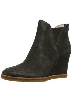 Bettye Muller Women's Whiz Ankle Boot Charcoal-Suede  M US