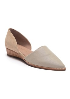 Bettye Muller Concept Cage Pointed Toe Demi-Wedge Flat