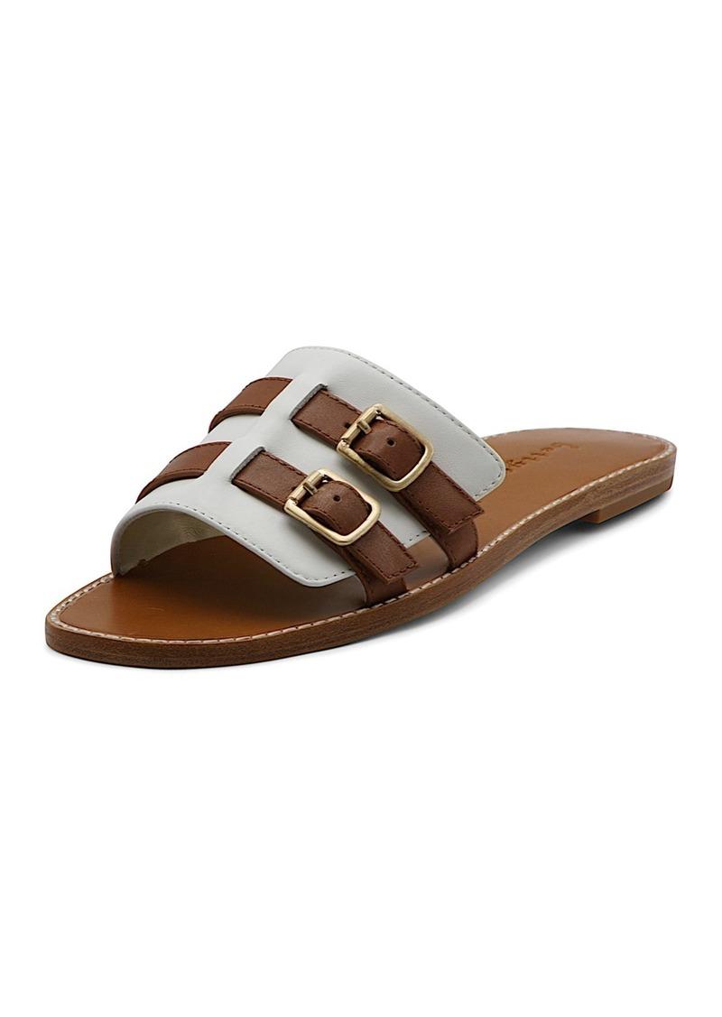 Bettye Muller Karson Buckle Slide Sandal