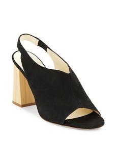 Bettye Muller Posh Leather Slingback Sandals