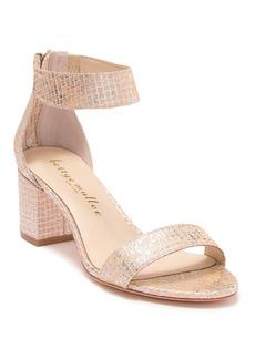 Bettye Muller Tangle Shimmer Block Heel Sandal