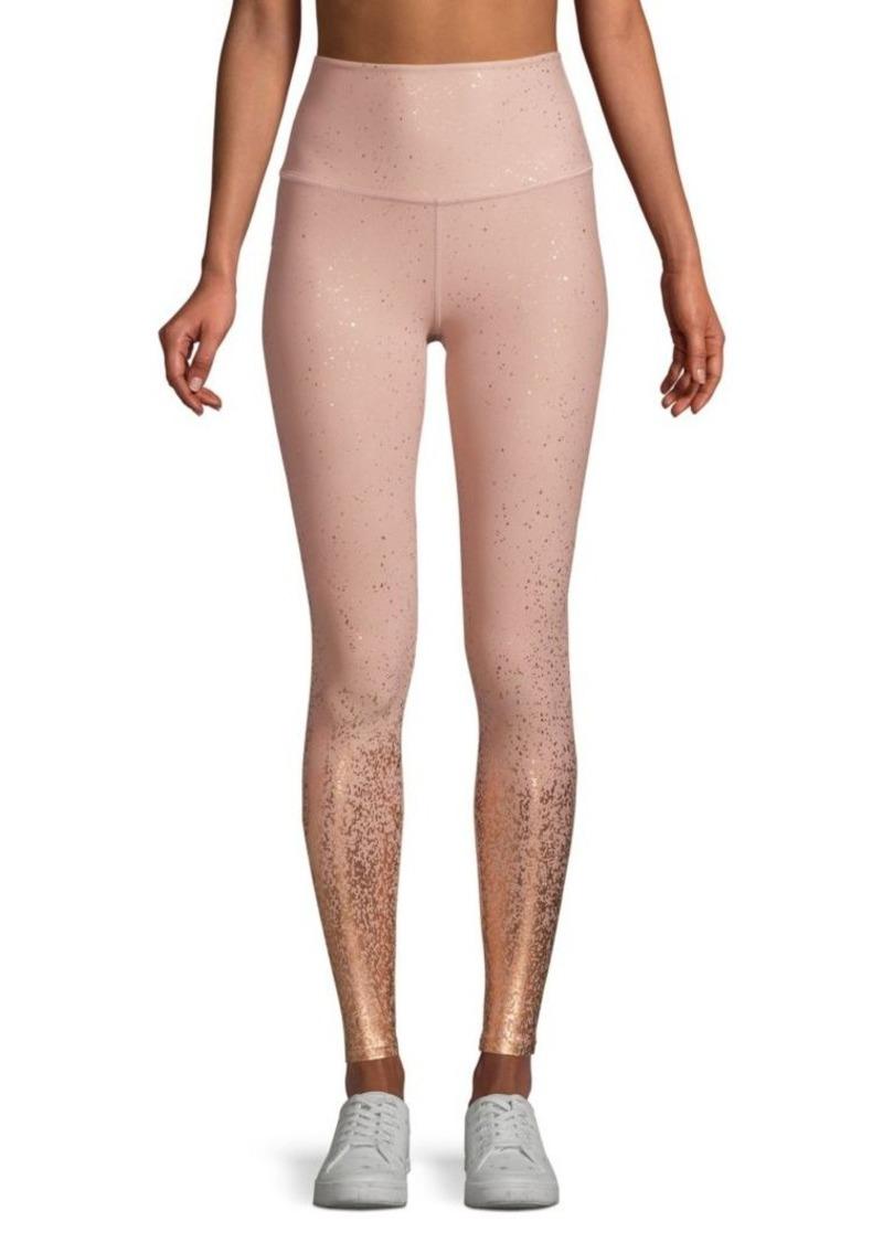 76754799c8162 Beyond Yoga Alloy Ombre Metallic High-Rise Leggings