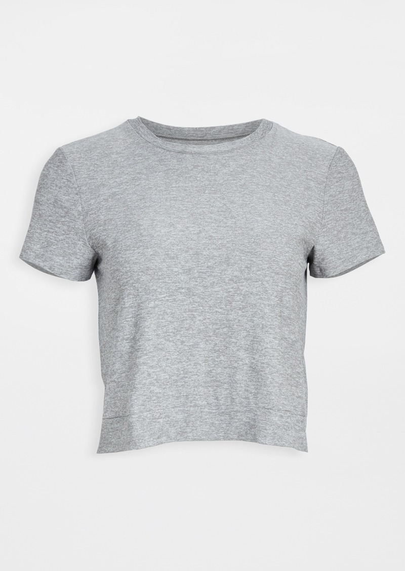 Beyond Yoga Back Out Cropped Tee