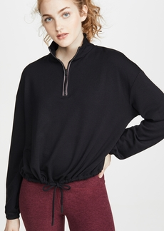 Beyond Yoga By Request Cropped Pullover