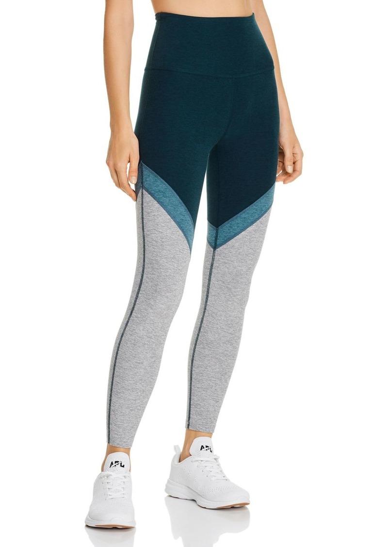 Beyond Yoga Color-Block Space-Dye Leggings