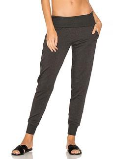 Beyond Yoga Cozy Fleece Foldover Sweatpant