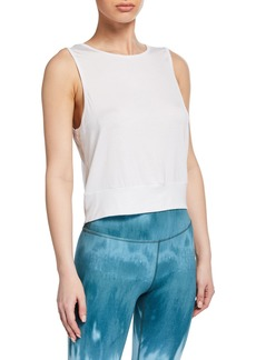 Beyond Yoga Go Easy Cropped Tank