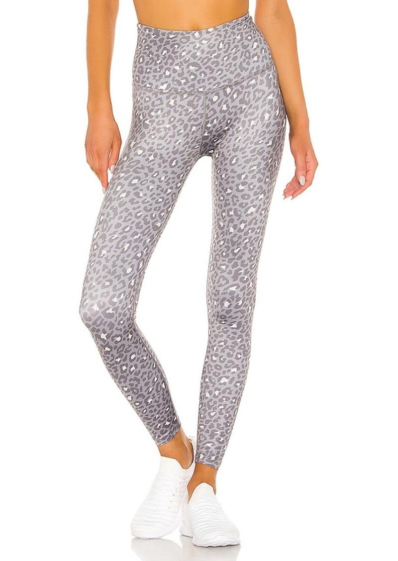 Beyond Yoga Lux Leopard High Waisted Midi Legging
