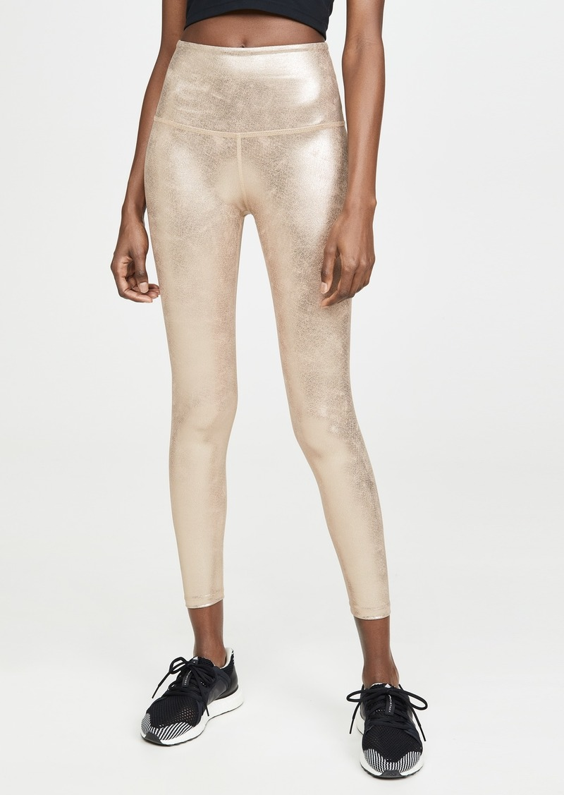 Beyond Yoga Luxe Featherette High Waisted Midi Leggings