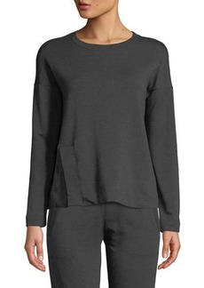 Beyond Yoga Sedona Split-Hem Activewear Sweatshirt