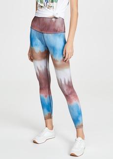 Beyond Yoga Stripe Luxe Mantra High Waisted Leggings