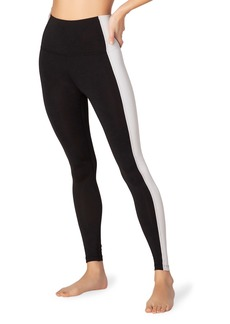 Beyond Yoga To The Frame High-Waist Side Stripe Leggings