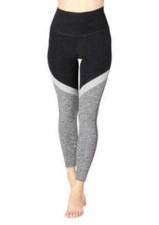 Beyond Yoga Tri-Panel Space-Dye High-Waist Midi Leggings