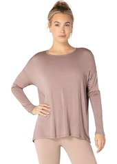 Beyond Yoga Women's Draw The Line Tie Back Pullover