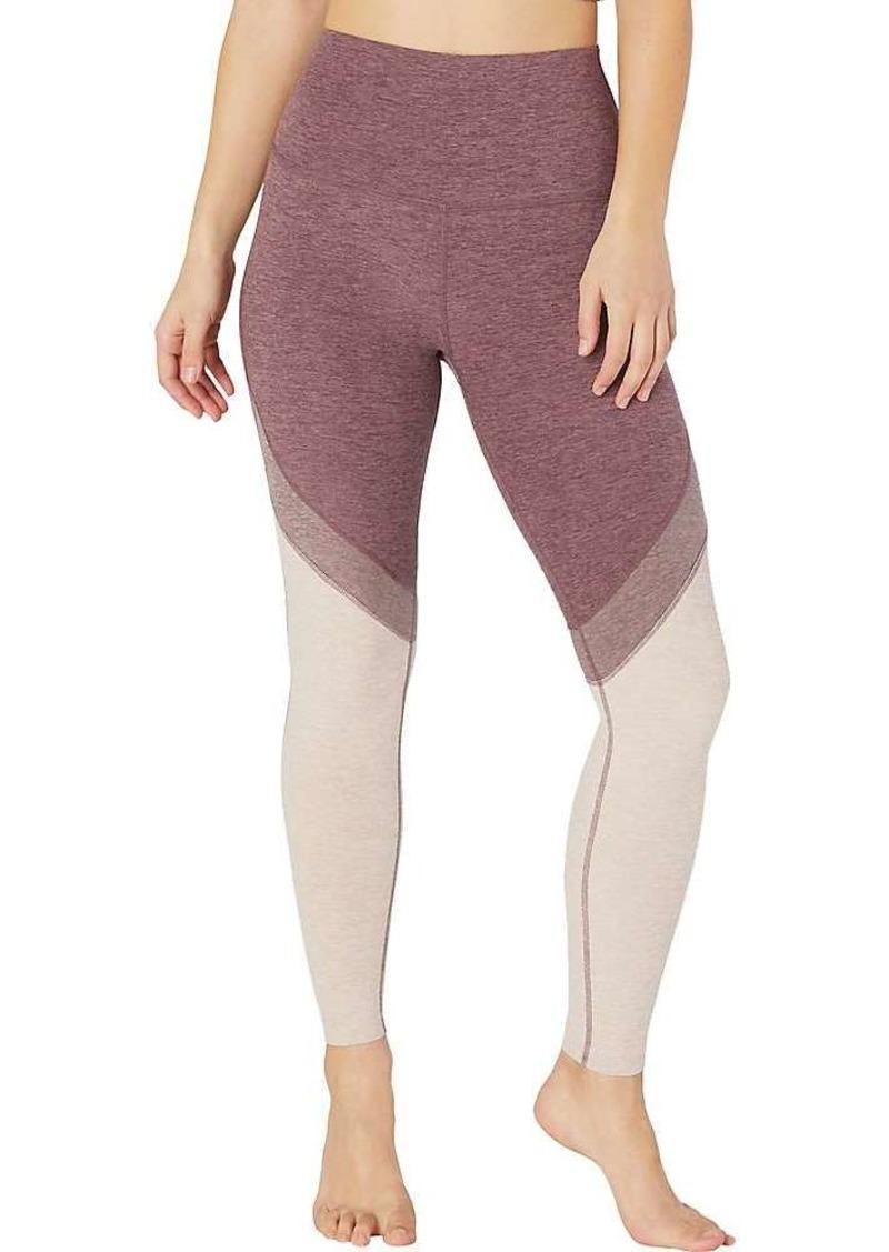 Beyond Yoga Women's Tri Panel Spacedye High Waisted Midi Legging