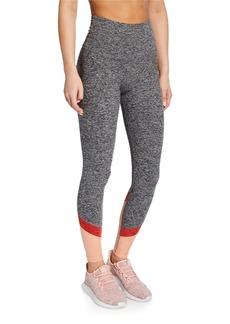 Beyond Yoga Color In High-Waist Colorblock Leggings
