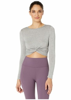 Beyond Yoga Crossroads Reversible Cropped Pullover