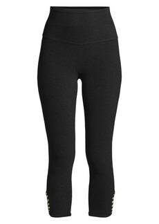 Beyond Yoga Cutout Cropped Active Leggings