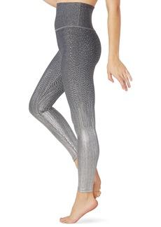 Beyond Yoga Drip Dot Metallic High-Waist Midi Leggings