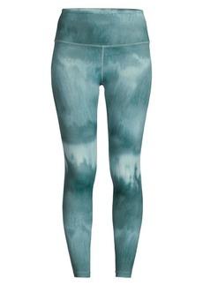 Beyond Yoga High-Waist Printed Midi Leggings