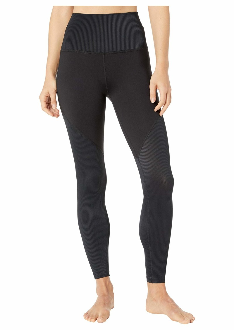 Line Of The Times High Waisted Midi Leggings