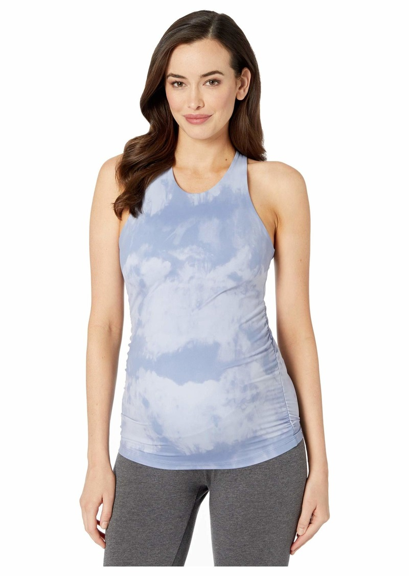 Beyond Yoga Maternity Back At You Shirred Tank