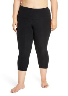 Plus Size Women's Beyond Yoga Walk & Talk Space Dye High Waist Leggings