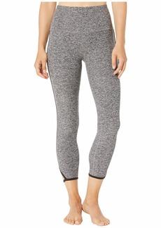Beyond Yoga Slip Open High-Waisted Spacedye Midi Leggings