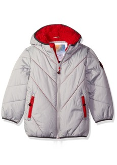 Big Chill Big Boys' Solid Bubble Jacket
