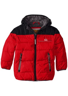 Big Chill Little Boys' Puffer Jacket with Down Fill