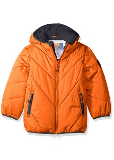 Big Chill Little Boys' Solid Bubble Jacket