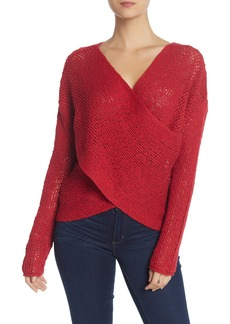 Billabong After Glow Faux Wrap Sweater