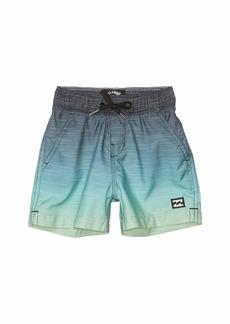 Billabong All Day Fade Layback Swim Shorts (Toddler/Little Kids)