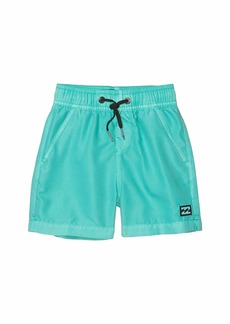Billabong All Day Overdye Layback Swim Shorts (Toddler/Little Kids)