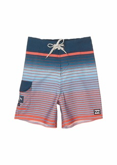 Billabong All Day Stripe Pro Swim Shorts (Toddler/Little Kids)