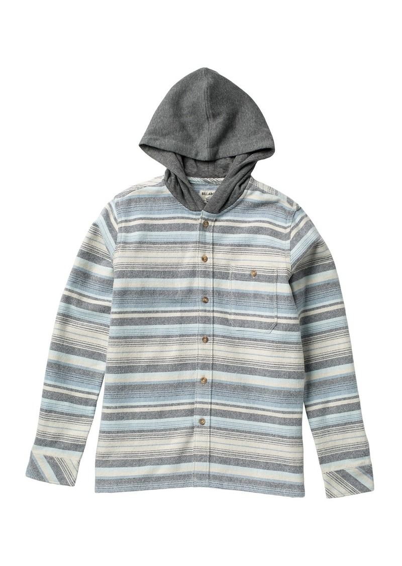Billabong Baja Button Front Flannel (Big Boys)